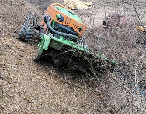 cistenie pozemku s greenclimber