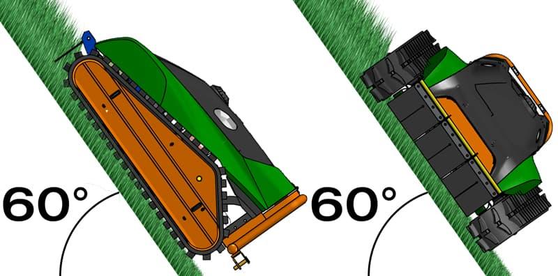 Svahová kosačka Green Climber F23