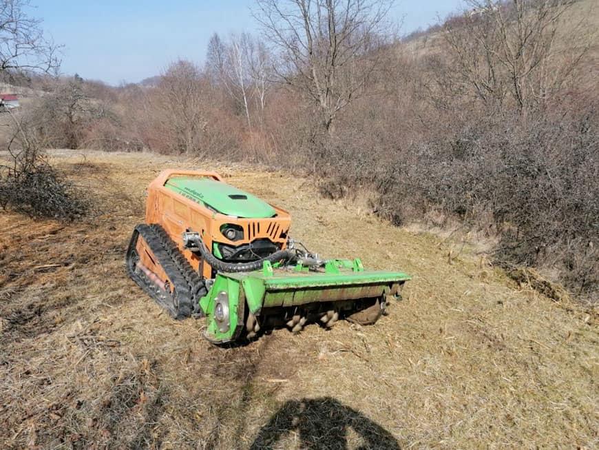 greenclimber čistenie pozemkov