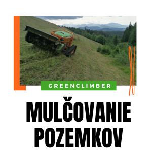 mulčovanie trávy služba